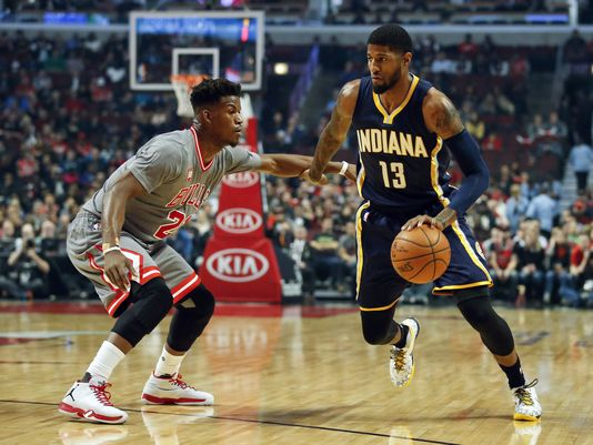 chciago bulls indiana pacers
